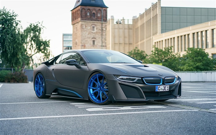 2016 GSC BMW i8 Auto Poster HD Wallpaper Views:2324