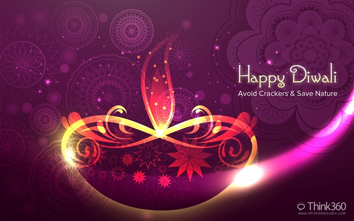 2016 Happy Diwali Festival Themed Desktop Wallpaper Views:2756