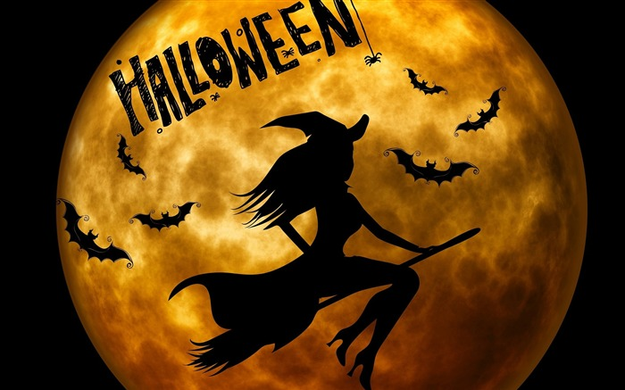 2016 Happy Halloween Holiday HD Wallpaper 08 Views:1384