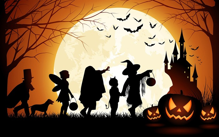 2016 Happy Halloween Holiday HD Wallpaper 11 Views:1222