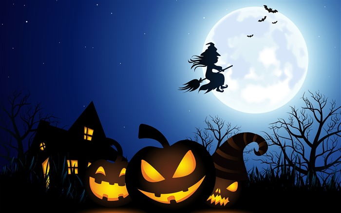 2016 Happy Halloween Holiday HD Wallpaper 12 Views:864