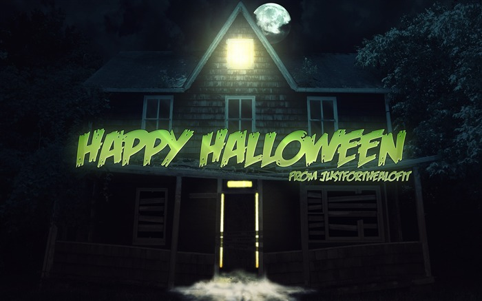 2016 Happy Halloween Holiday HD Wallpaper 14 Views:1658