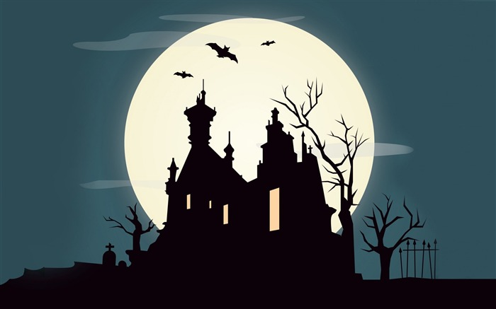 2016 Happy Halloween Holiday HD Wallpaper 18 Views:946