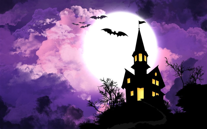 2016 Happy Halloween Holiday HD Wallpaper 19 Views:959