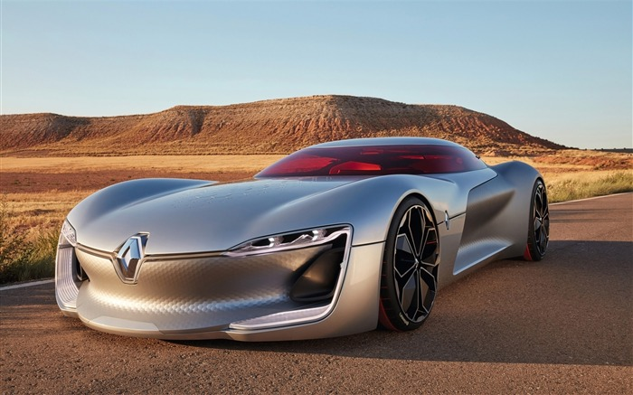 2016 Renault Trezor Concept HD Poster Wallpaper Views:3593