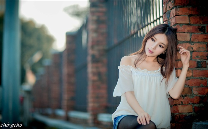 Beautiful asian girl-2016 Celebrity HD Wallpaper Views:1540
