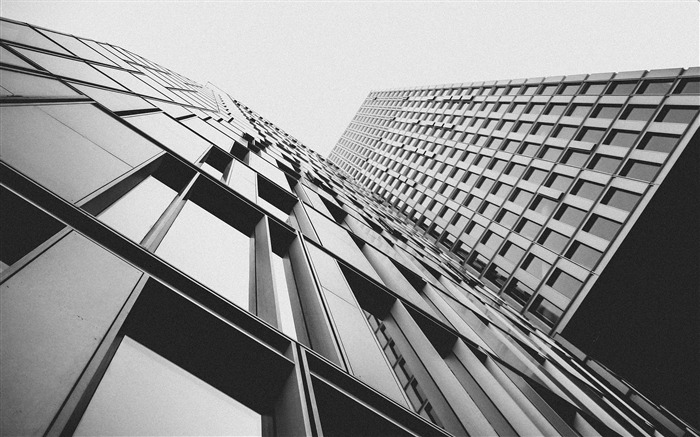 Black and white building-Cities Corner HD Wallpaper Views:912