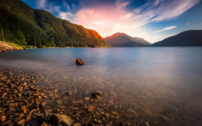 Canada Harrison Lake Beautiful Landscape Wallpaper 01 Views:1566
