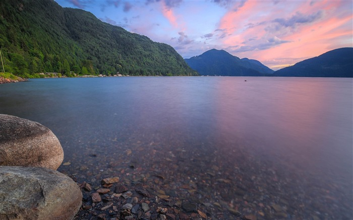 Canada Harrison Lake Beautiful Landscape Wallpaper 02 Views:1449