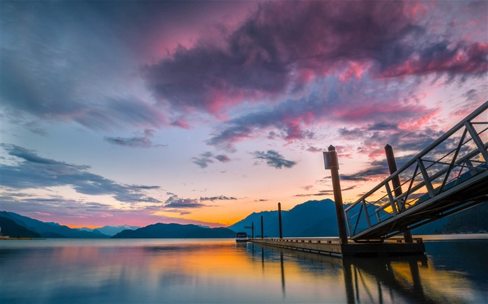Canada Harrison Lake Beautiful Landscape Wallpaper 03 Views:1506