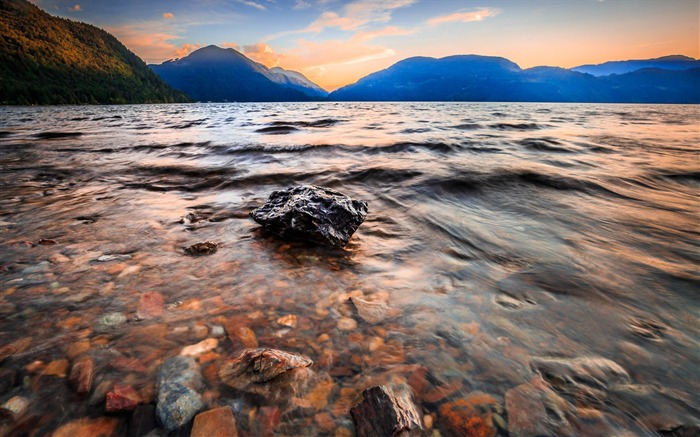 Canada Harrison Lake Beautiful Landscape Wallpaper 05 Views:1342
