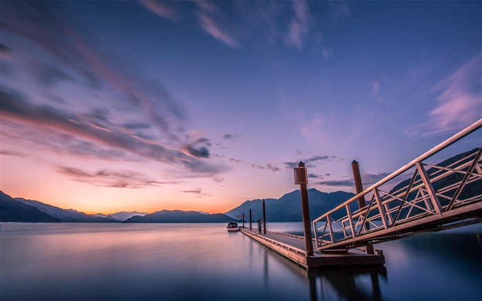 Canada Harrison Lake Beautiful Landscape Wallpaper Views:2323