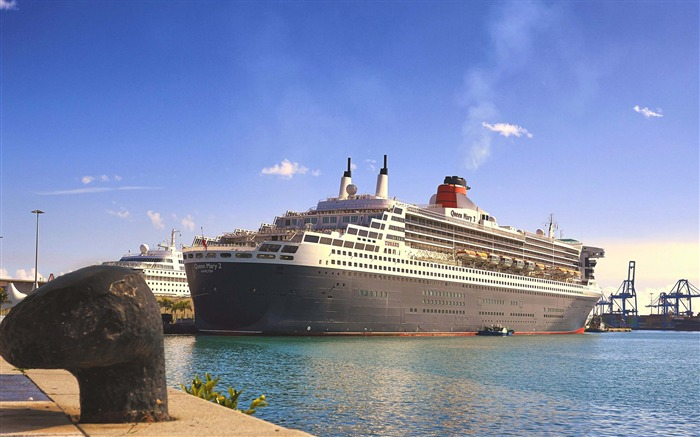 Queen mary cruises-Cities Photo HD Wallpaper Views:1151