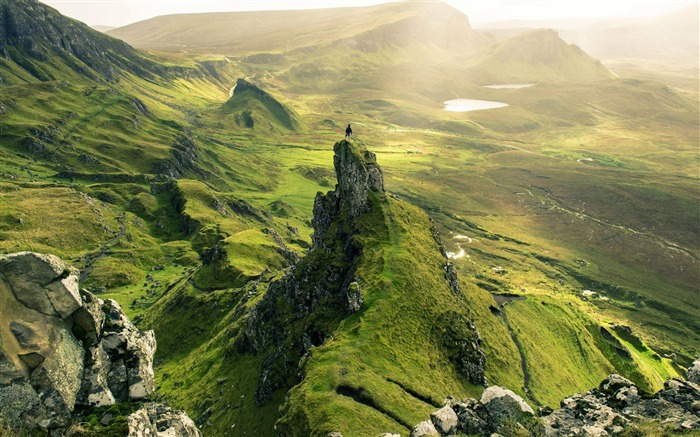 Scotland Europe Quiraing Isle of Skye-Nature Photo HD Wallpaper Views:1776
