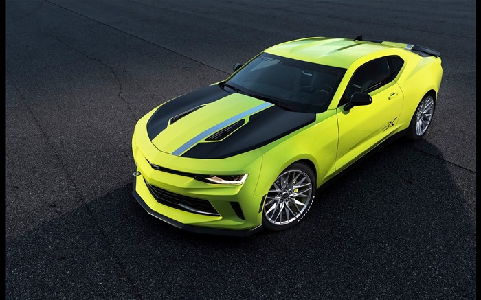 2016 Chevrolet Camaro Turbo AutoX HD Wallpaper Views:1796