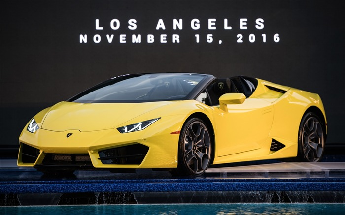 Title:2017 Lamborghini Huracan RWD Spyder HD Wallpaper Views:546