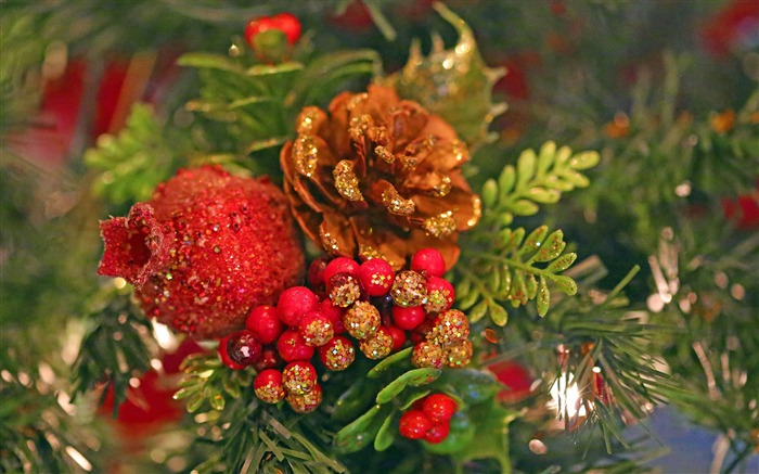 Christmas tree plant decorations-Merry Christmas 2017 HD Wallpaper Views:1749