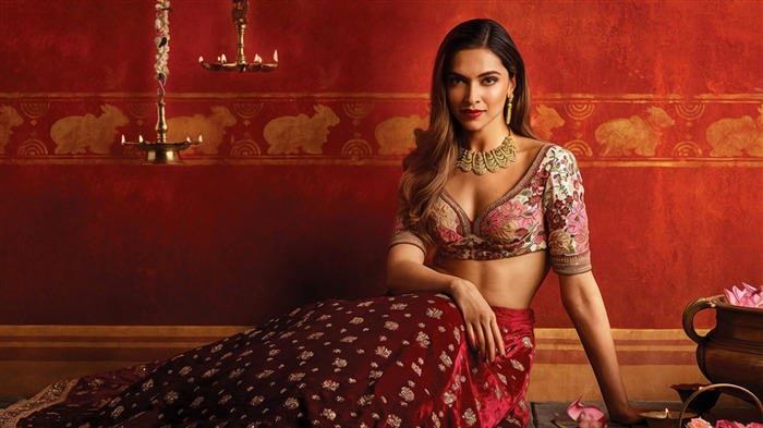 Deepika padukone tanishq 2016-Model Photo Wallpaper Views:3467