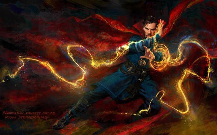 Doctor strange concept art-2016 Movie HD Wallpapers Views:2371