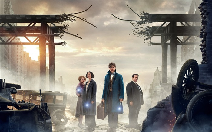 Fantastic beasts and where to find them-2016 Movie HD Wallpapers Views:1945