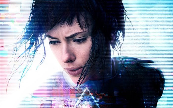 Ghost in the shell scarlett johansson-2016 Movie HD Wallpapers Views:1605