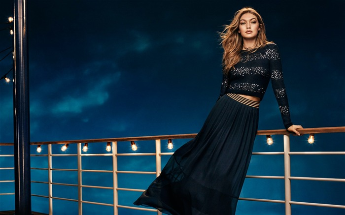 Gigi hadid tommy hilfiger collection 2016-Model Photo Wallpaper Views:2596