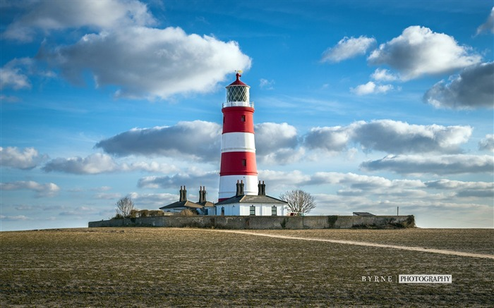 Happisburgh lighthouse-England travel scenery wallpaper Views:1443
