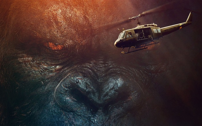 Kong skull island 2017-2016 Movie HD Wallpapers Views:2164