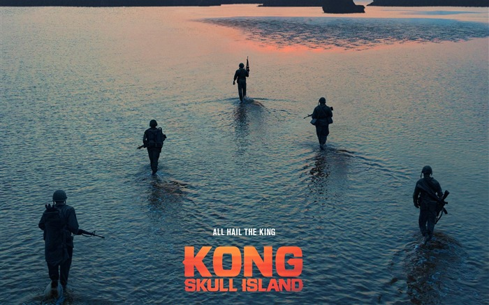 Kong skull island 2017 hunt-2016 Movie HD Wallpaper Views:1927