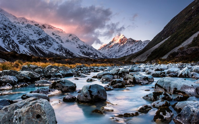New Zealand South Island Travel Scenery Wallpaper 02 Views:1536
