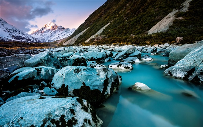New Zealand South Island Travel Scenery Wallpaper 03 Views:1641