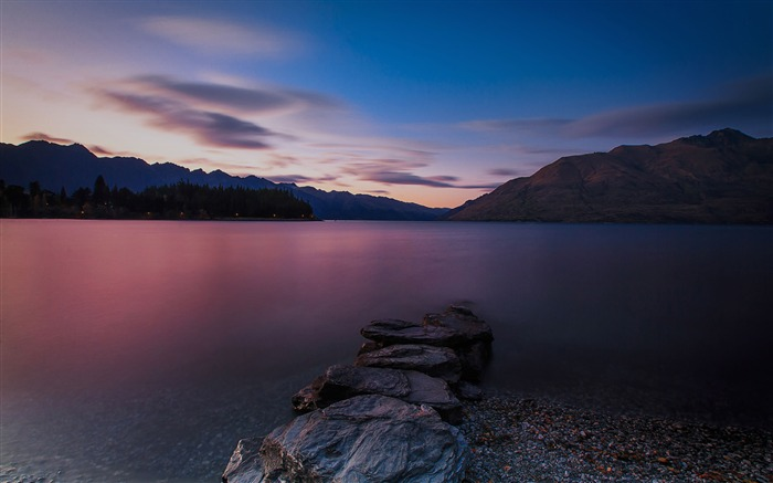 New Zealand South Island Travel Scenery Wallpaper 05 Views:1790