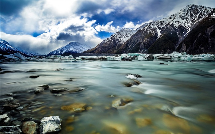 New Zealand South Island Travel Scenery Wallpaper 08 Views:1667