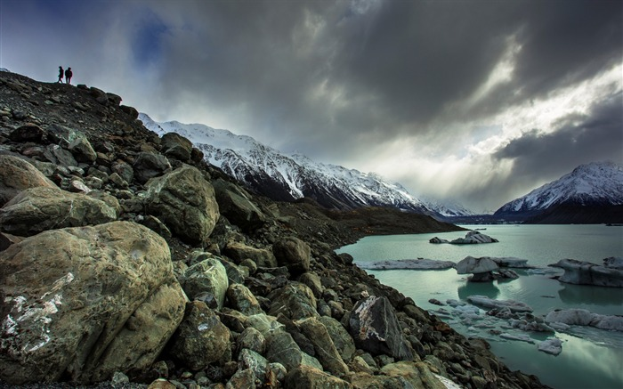 New Zealand South Island Travel Scenery Wallpaper 10 Views:1550