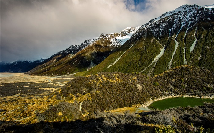 New Zealand South Island Travel Scenery Wallpaper 15 Views:1589