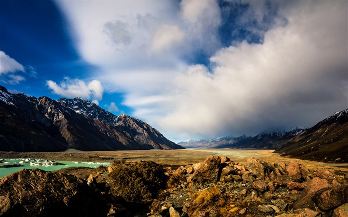 New Zealand South Island Travel Scenery Wallpaper 16 Views:953