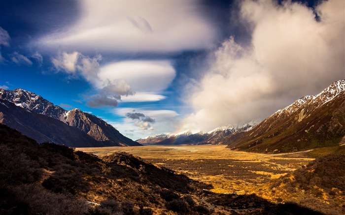 New Zealand South Island Travel Scenery Wallpaper 17 Views:1077