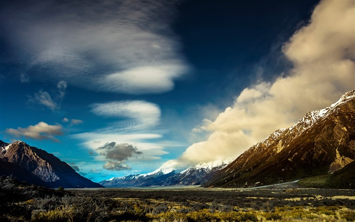 New Zealand South Island Travel Scenery Wallpaper 18 Views:1185