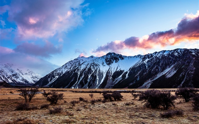 New Zealand South Island Travel Scenery Wallpaper 19 Views:857