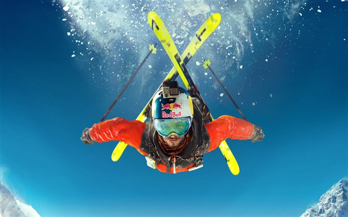 Title:Steep skiing extreme sport-Sports Poster Wallpaper Views:749