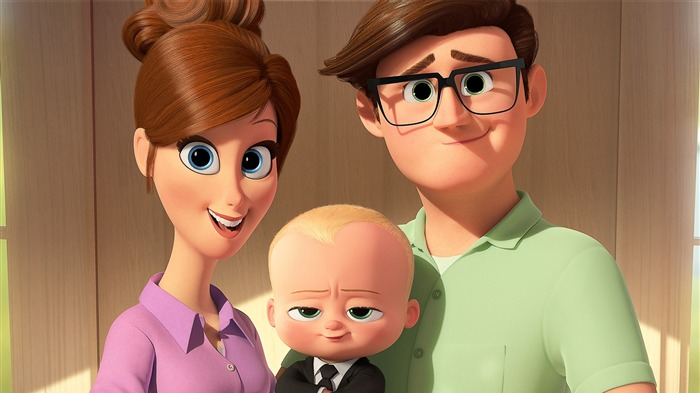 The Boss Baby 2017 Animation Film Wallpaper Views:5007