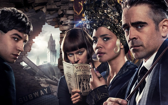 Villains Fantastic beasts and where to find them-2016 Movie HD Wallpapers Views:1067