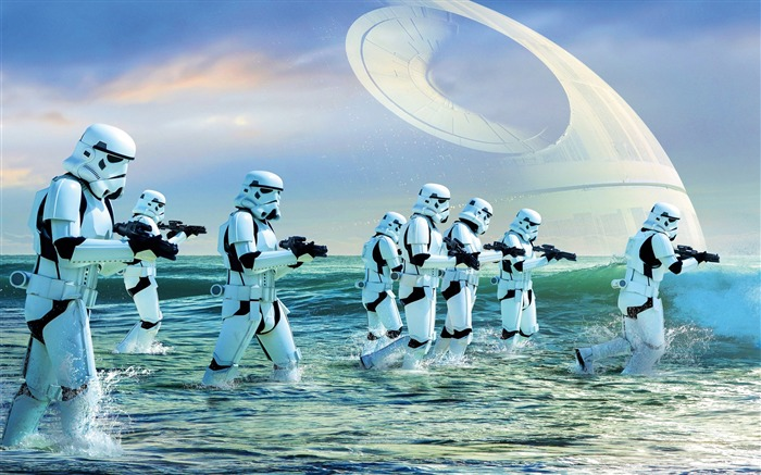 2016 Rogue one a star wars story stormtroopers-Movie Posters HD Wallpaper Views:1060
