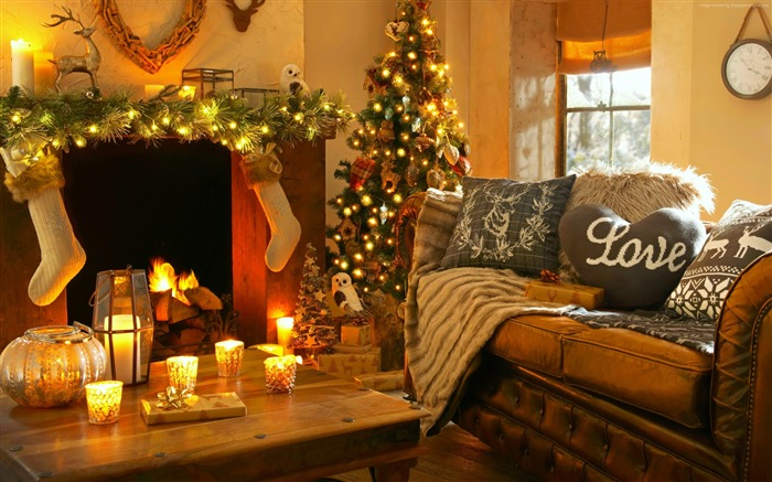 2017 Christmas New Year High Quality Wallpaper 03 Views:1748
