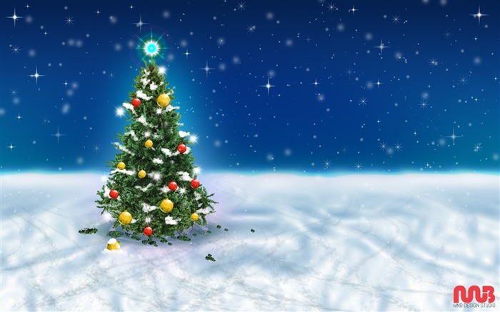 2017 Christmas New Year High Quality Wallpaper 09 Views:992