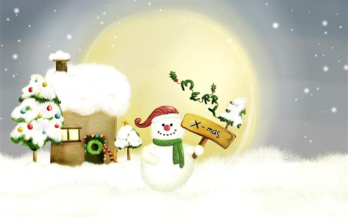 2017 Christmas New Year High Quality Wallpaper 17 Views:769