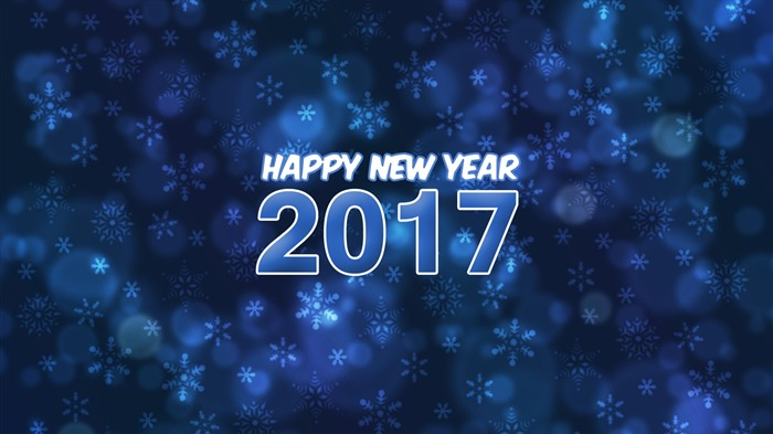 2017 Happy New Year HD Festivals Fonds d'écran Vues:1096