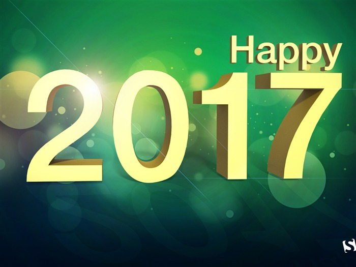 2017 Happy New Year HD Festivals Desktop Wallpaper 15