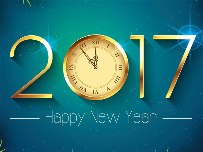2017 Happy New Year HD Festivals Desktop Wallpaper 16 Views:632
