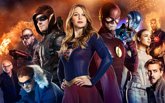Arrow supergirl flash legends of tomorrow-2016 Movie Posters Wallpaper Views:1568
